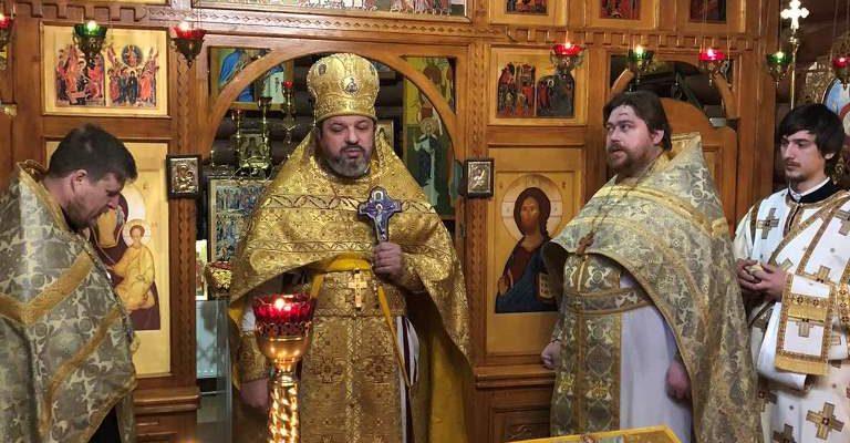 Настоятель храма святых Царских Страстотерпцев отметил свое 40-летие